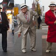 毎日違うオシャレな装いで仕事に向かうおじいちゃん