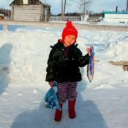 【ロシア】おばあちゃんを救うためマイナス24度の中、 3時間も歩き続けた4歳の少女