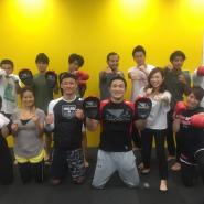 サニーサイドアップに格闘技ブーム到来?!格闘技とフィットネスを融合した「ファイトネス」を体験!