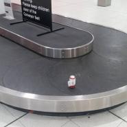 ビール1缶のみを手荷物として預けた結果、 無事に目的地まで到着!