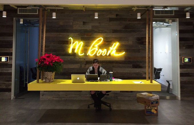 ニューヨークのシスターカンパニー「M Booth」