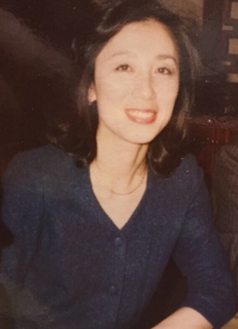 昔の写真も見せていただいた。言われてみれば、確かにメーテルの母という雰囲気も。 さすが、松本零士先生である。