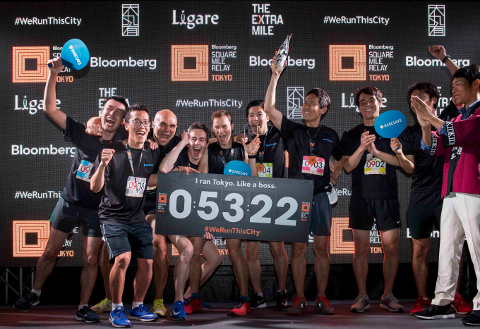 Bloomberg Square Mile Relay 2018 - Tokyo