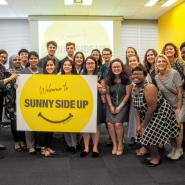 【国際交流】米・ノーステキサス大学の学生さんと白熱PRセッションを実施!