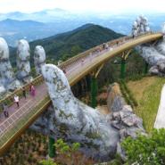 大自然の中から巨大な両手が?!ベトナムの新名所「ゴールデン・ブリッジ」がファンタジー感溢れすぎてすごい!!