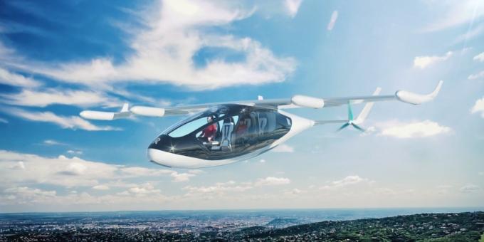 実用化は2020年?!ロールス・ロイスが空飛ぶタクシーを開発中