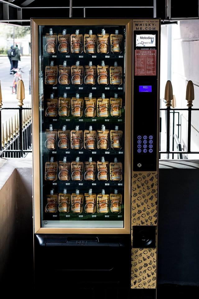 酒豪にはたまらない!!ロンドンにあるウィスキーの自動販売機