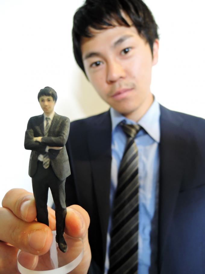 3Dプリンターでお菓子?!最新3Dプリンター技術を体験!フィギュアを作成してきました!