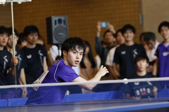 明治大学のランチタイムが、卓球の国際試合の会場に!?5,000人が興奮した「MEIJI SPORTS スペシャル」第一弾が開催!~後篇~