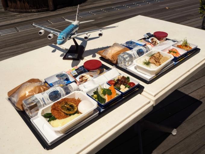 全日本空輸ホノルル線で楽しめるbills初の機内食をご紹介!