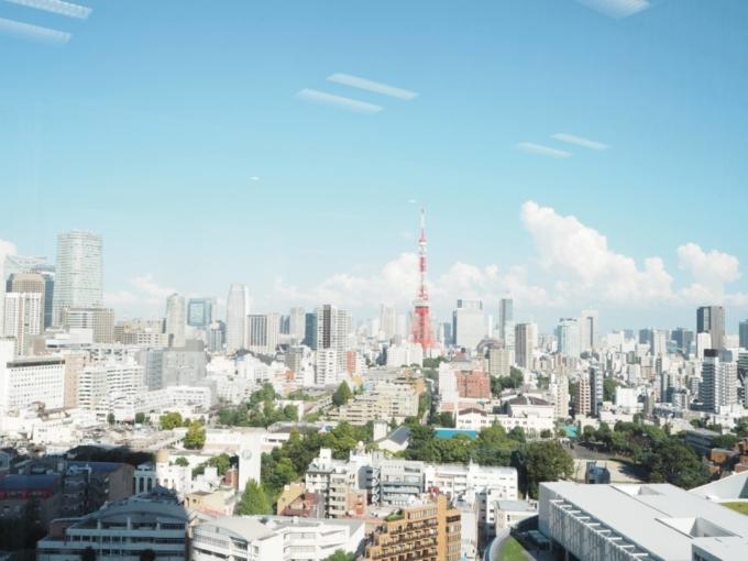 森ビルから見た東京の風景