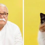毎日一緒にいると顔って似てくるの!?飼い主と猫の顔を比較してみたらそっくりだった!