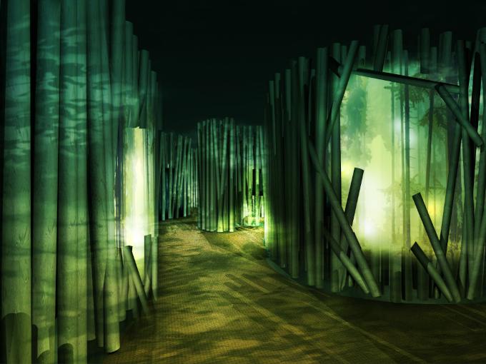 森林ゾーン